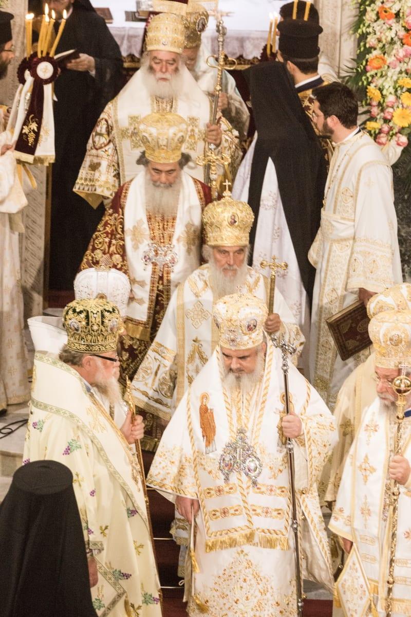 Πολυ Αρχιερατική Πατριαρχική Θεία Λειτουργία προεξάρχοντος της Α.Θ.Π του Οικουμενικού Πατριάρχη κ.κ. Βαρθολομαίου του Α'