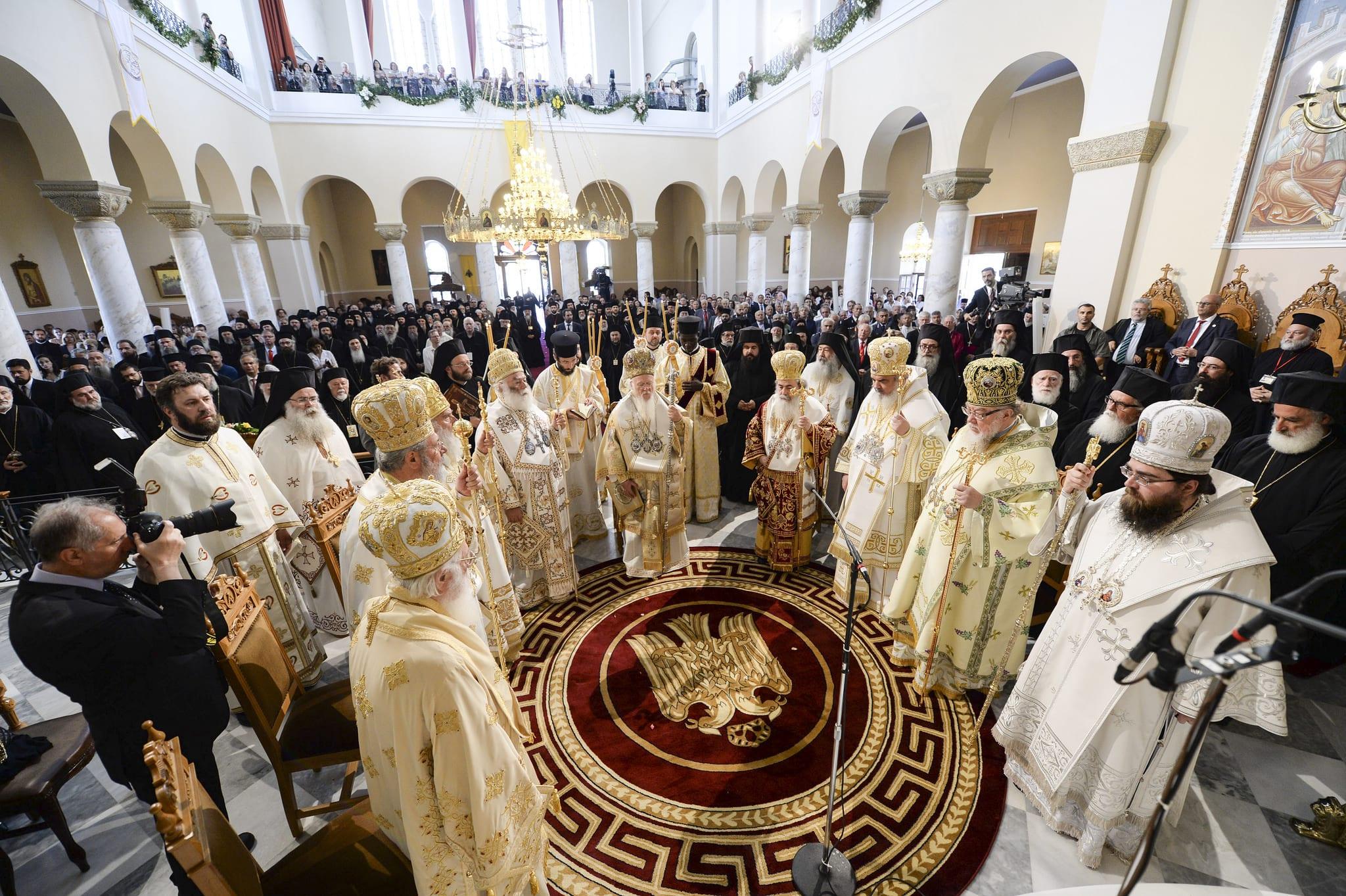 Πατριαρχική & Συνοδική Θεία Λειτουργία επί τη Λήξη των εργασιών της Μεγάλης Συνοδου