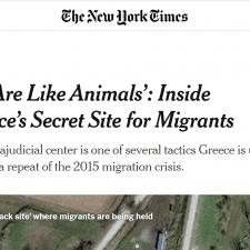 Σκληρή (και άδικη) επίθεση στην Ελλάδα από τους New York Times